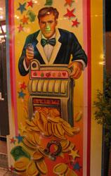 "Outside a ""casino"", Hamburger DOM."
