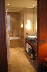 Bathroom, Park Hyatt Hamburg.